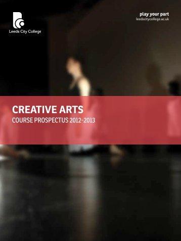 CREATIVE ARTS - Leeds City College