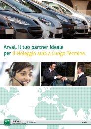 Scarica la brochure informativa - Arval