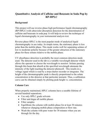 caffeine research paper