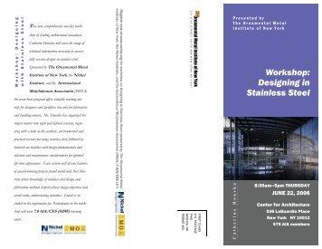 Workshop Flyer - SSINA
