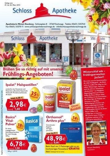 2,98€ - Schloss-Apotheke Eschwege