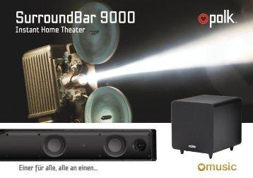 Polk Audio - SurroundBar 9000