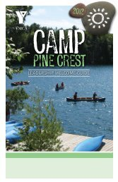 Pine crest - YMCA of Greater Toronto