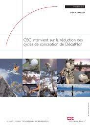 CSC intervient sur la reduction des cycles de conception de Decathlon