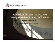 Instructions for Property Management via WebLink