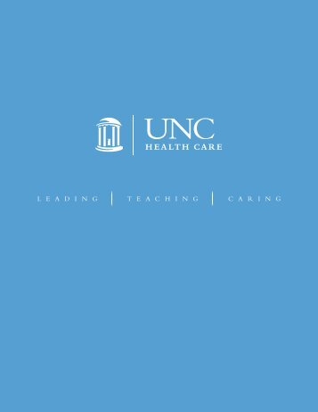 taBLE of - UNC Health Care