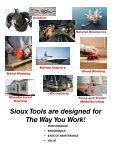 Sioux Tools Industrial Catalog - Page 2