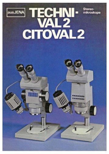 "Stereomikroskop ""Technival 2 / Citoval 2"" - Optik-Online"