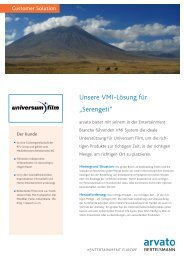 Case Study Universum - Arvato Entertainment Europe