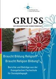 Gruß Ausgabe 123 - Großheppacher Schwesternschaft