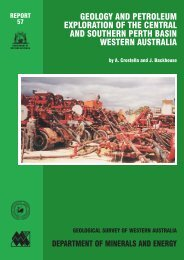 Report 57: Geology and petroleum exploration of the central and ...