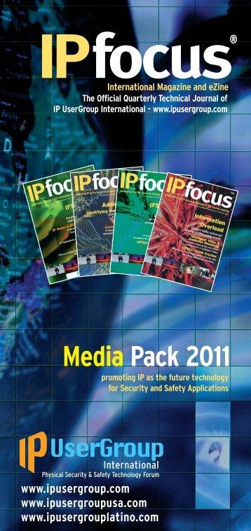 Media Pack 2011 - IP UserGroup