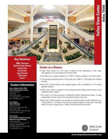 Valley View Center - Jones Lang LaSalle
