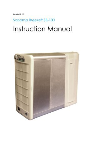 Instruction Manual - Innovative Labs