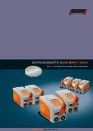 ELEKTRODENINVERTER BOOSTER.PRO 170/210