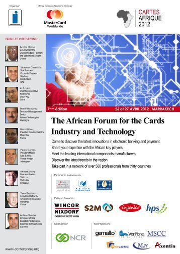 The African Forum for the Cards Industry and Technology