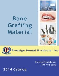 Bone Grafting Material - Prestige Dental Products