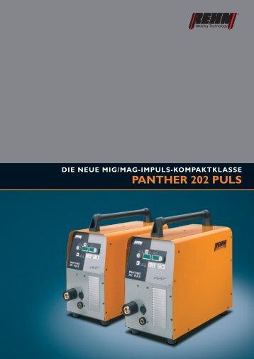 PANTHER 202 PULS - Rehm GmbH  u. Co KG