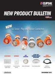 New Product Bulletin - November 2012, 25324 - Clipsal