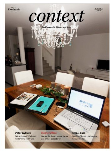 Home Office (PDF, 3747 kb) - KV Schweiz