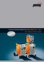 THE NEW MIG/MAG GENERATION MEGA.ARC 250-4 – 450-4 - Rehm