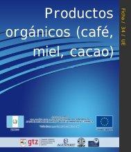 Productos orgánicos (café, miel y cacao)