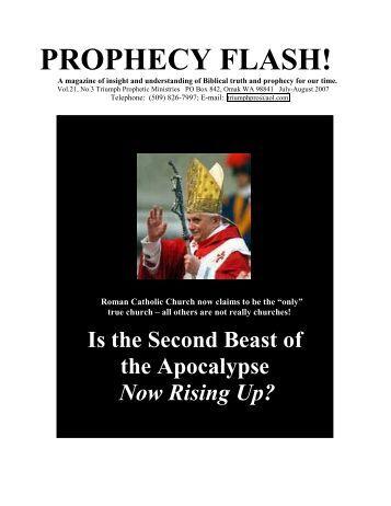 PROPHECY FLASH - TriumphPro.com
