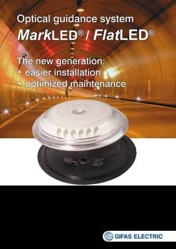 MarkLED® / FlatLED® - GIFAS W.J. Gröninger ELECTRIC GmbH