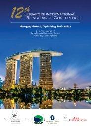 Brochure - 12th Singapore International Reinsurance Conference