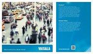 Vaisala Brochure