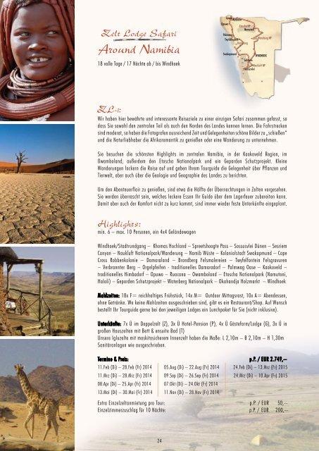 Around Namibia - Outdoor Adventure