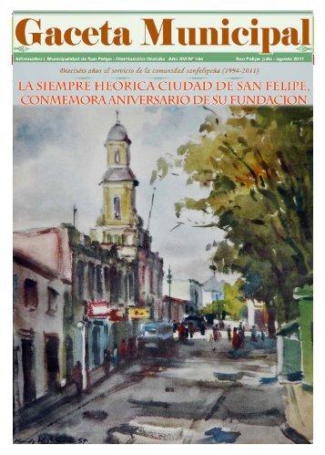 Dieciséis Años al Servicio de la Comunidad Sanfelipeña ... - Salir