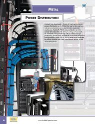 power strips - Hubbell Premise Wiring
