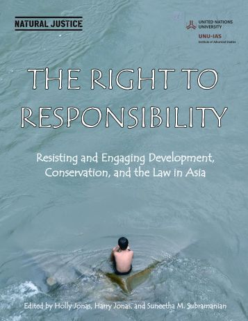 The Right to Responsibility.pdf - Natural Justice