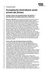 Pressemitteilung als PDF - German Pellets Genussrechte GmbH