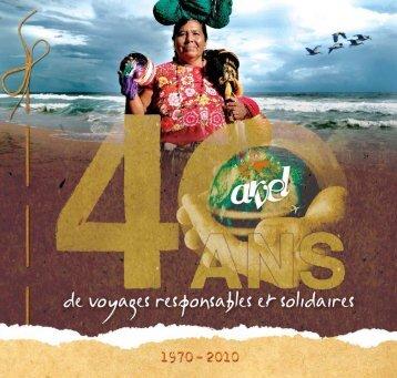 "Télécharger le dossier "" Voyages solidaires ARVEL "" - Arvel Voyages"