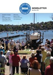 December 2012 - The Boat Owners' Association of NSW