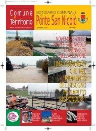 Notiziario dicembre 2010 - Comune di Ponte San Nicolò