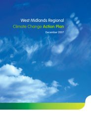 West Midlands Regional Climate Change Action Plan