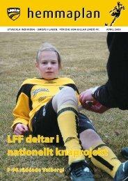 LFF deltar i nationellt knäprojekt - IdrottOnline Klubb
