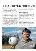 LFF deltar i nationellt knäprojekt - IdrottOnline Klubb - Page 4
