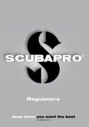 Manuel détendeurs - Scubapro