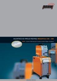 SALDATRICE AD IMPULSI MIG/MAG MEGAPULS 300 – 500 - Rehm