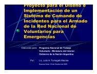 Proyecto para el Diseño e Implementación de un Sistema de ...