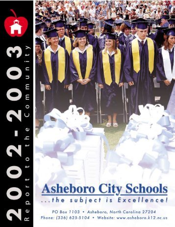 2002-2003 - Asheboro City Schools