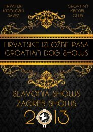 SLAVONIA SHOWS ZAGREB SHOWS - HKS-a