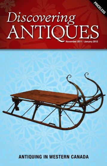 ANTIQUING IN WESTERN CANADA - Discovering ANTIQUES