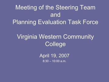 PowerPoint - Virginia Western Community College