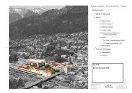 Teilbebauungsplan Bahnhofvorstadt 1 Bludenz Inhaltsverzeichnis