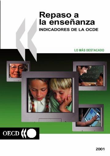Indicadores educativos de la OCDE 2001